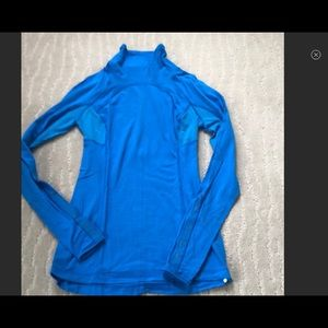 🆕LISTING Lululemon Blue &Lace Fitted Top EC